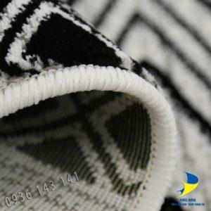 Thảm lót sàn phòng ngủ lông ngắn dệt cao cấp
