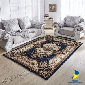 thảm lót sàn nhà đẹp hoàng gia đế  dệt cao cấp