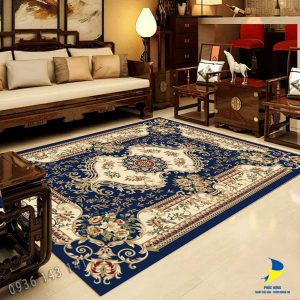Thảm sofa trải sàn mang phong cách cổ điển