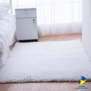 Thảm lót sàn nhà lông dài