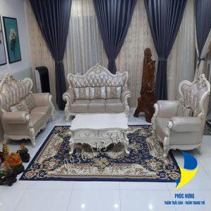 Thảm lót sàn nhà đẹp bằng nỉ cao cấp