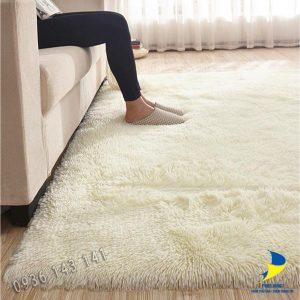 Thảm lót sàn nhà HCM đẹp bằng lông đơn sắc đẹp