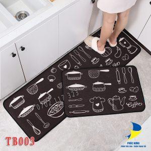 thảm bếp