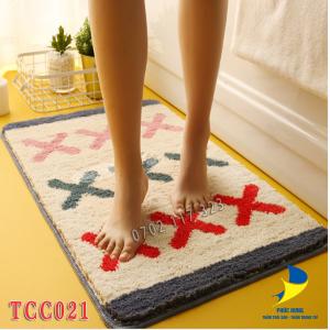 thảm chùi chân cotton