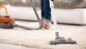 Thảm lót sàn lông dài được vệ sinh dễ dàng với máy hút bụi