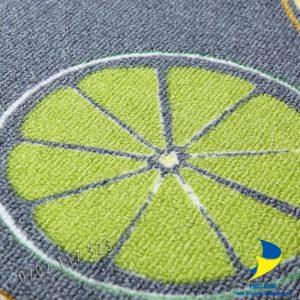 Bề mặt tấm thảm bếp 001 được thiết kế hút ẩm tuyệt đối