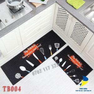 Thảm bếp mang đến hứng thú khi bắt đầu nấu nướng