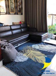 Thảm lót sàn nhà đẹp mang đến không gian hoàn mỹ