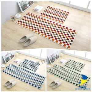 Thảm lót sàn nhà bếp đẹp, dễ vệ sinh