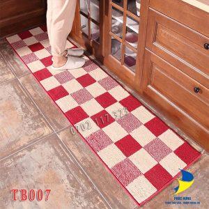 Thảm bếp lót sàn nhà giữ cho không gian luôn sạch sẽ
