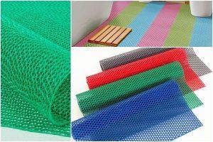 Thảm lót sàn nhà vệ sinh dạng lưới thấm hút tốt, chống trơn trượt hiệu quả