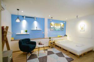 Thảm lót sàn nhà hà nội bằng nỉ mặt lỳ đẹp