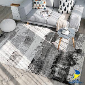 Thảm lót sàn nhà lông ngắn dệt nhập khẩu cao cấp