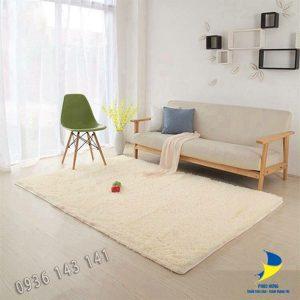 Thảm lông dài lót sàn nhà