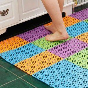 Thảm nhựa lót sàn nhà tắm chống trơn trượt