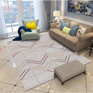 Thảm lót sàn nhà hcm đẹp với nhiều họa tiết trang trí khác nhau mang đến không gian sang trọng, bắt mắt