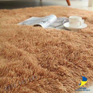 Những sợi lông dài êm ái, thoải mái của thảm lót sàn phòng ngủ giá rẻ Hồ Chí Minh