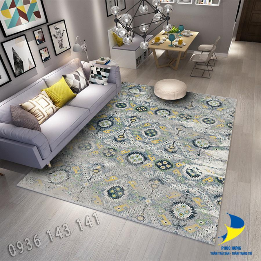 Thảm lót sàn nhà cao cấp đẹp, chất lượng