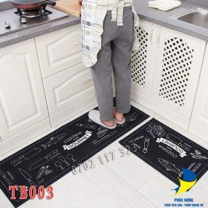 bộ thảm bếp 2 miếng