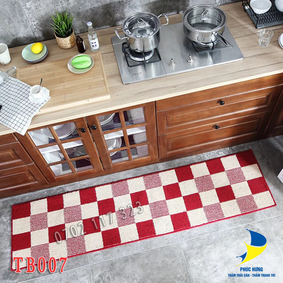 thảm trải sàn bếp