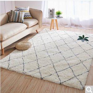 Thảm trải sàn TS001 được làm từ sợi bông mềm mại