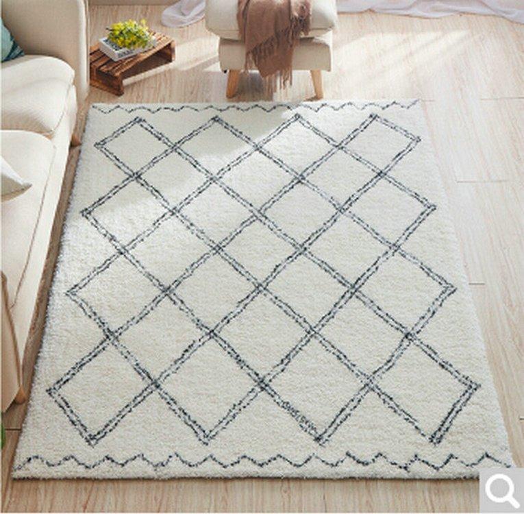 Thảm lót sàn nhà sợi bông cao cấp 002