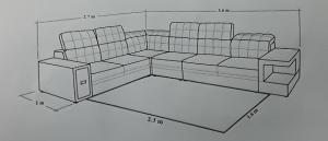 chọn kích thước thảm sofa