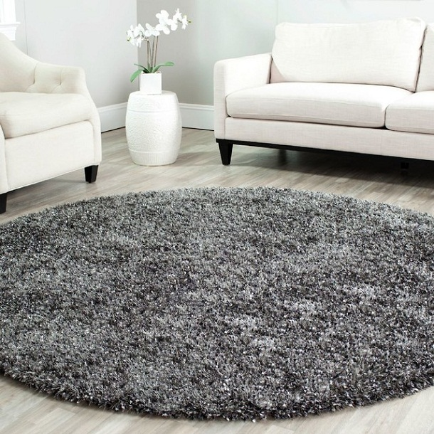 thảm sofa tròn