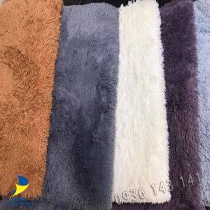 thảm lông trải sofa thanh lí kho