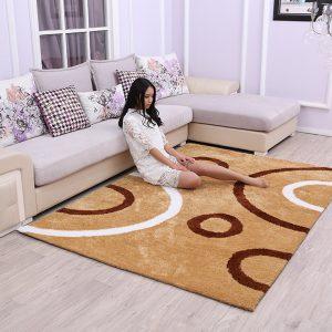 thảm trải sofa chất liệu lông ngắn