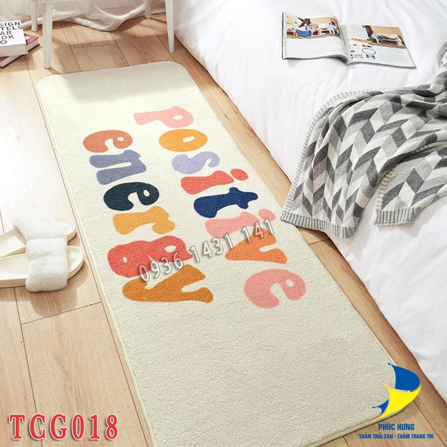 thảm trải chân giường