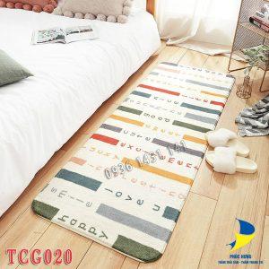 thảm chân giường TCG020