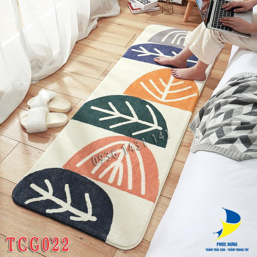 thảm chân giường TCG022