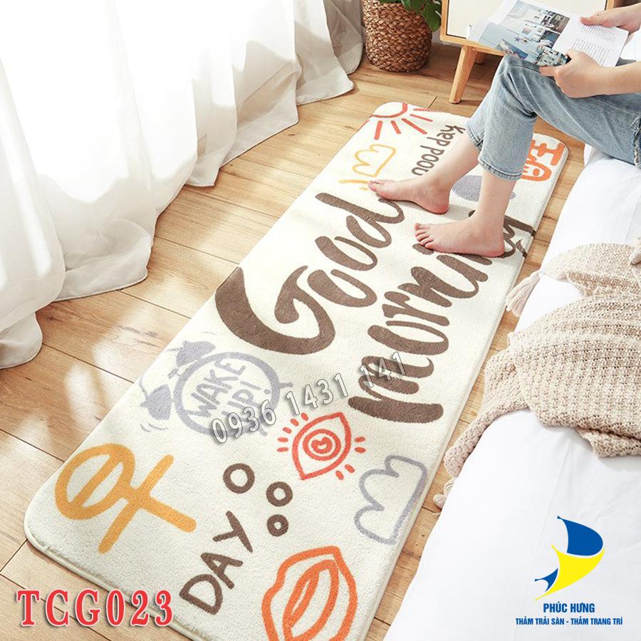 thảm chân giường TCG023