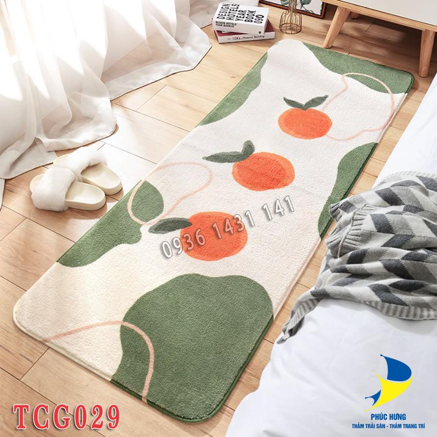 thảm chân giường cao cấp