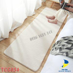 thảm chân giường