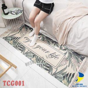thảm chân giường TCG001