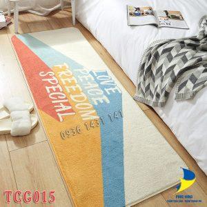 thảm chân giường TCG