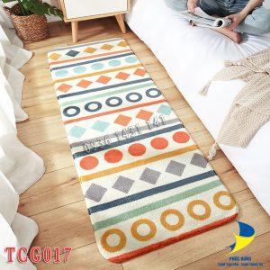 thảm chân giường TCG017