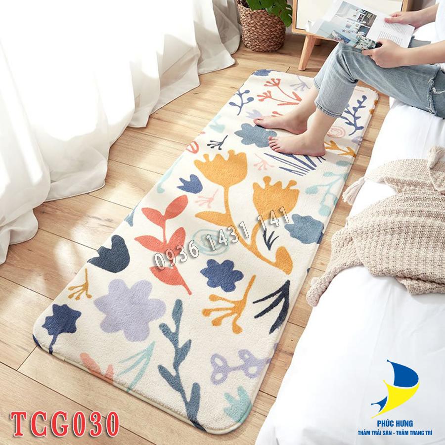 thảm lót chân giường TCG030