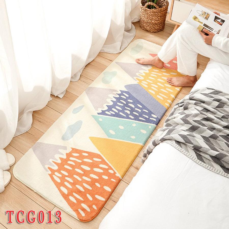 thảm chân giường sợi mềm mại